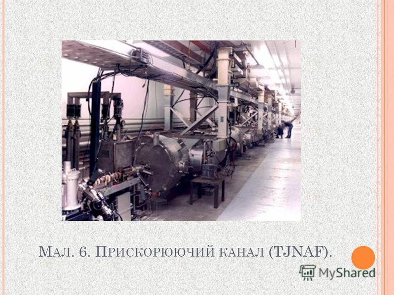 М АЛ. 6. П РИСКОРЮЮЧИЙ КАНАЛ (TJNAF).