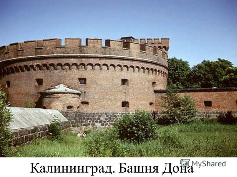 Калининград. Башня Дона