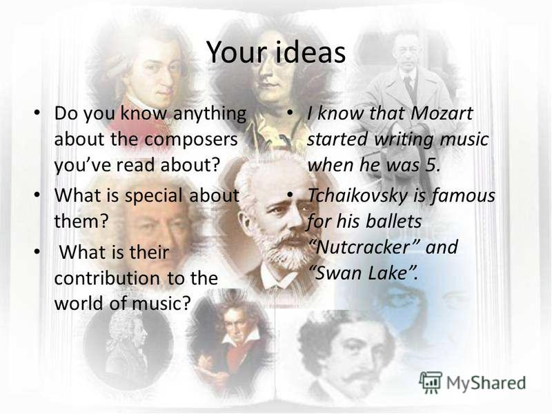 composers turn to expression of feelings in their music Definition of nationalism in music, europe and the united not least because their music was feeling and art was accomplished using the.