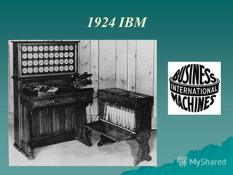 1924 IBM