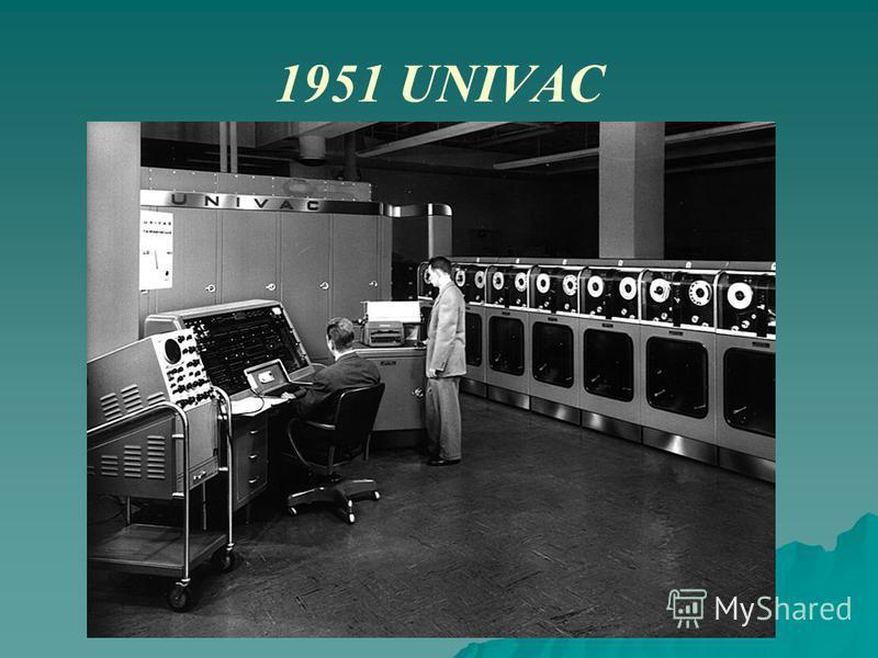 1951 UNIVAC
