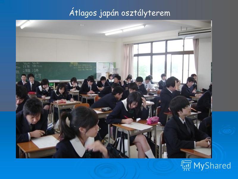 Átlagos japán osztályterem