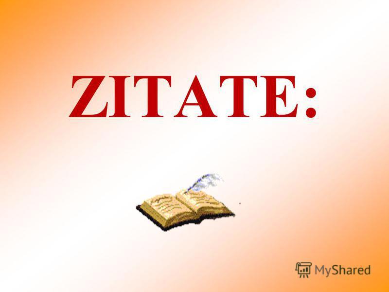 ZITATE: