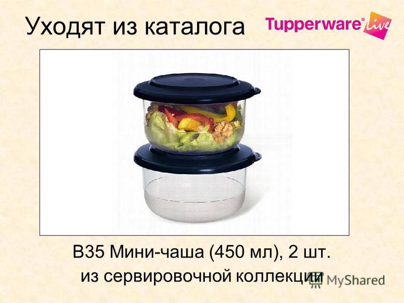Уходят из каталога В35 Мини-чаша (450 мл), 2 шт. из сервировочной коллекции