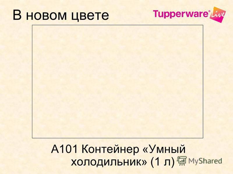 В новом цвете А101 Контейнер «Умный холодильник» (1 л)