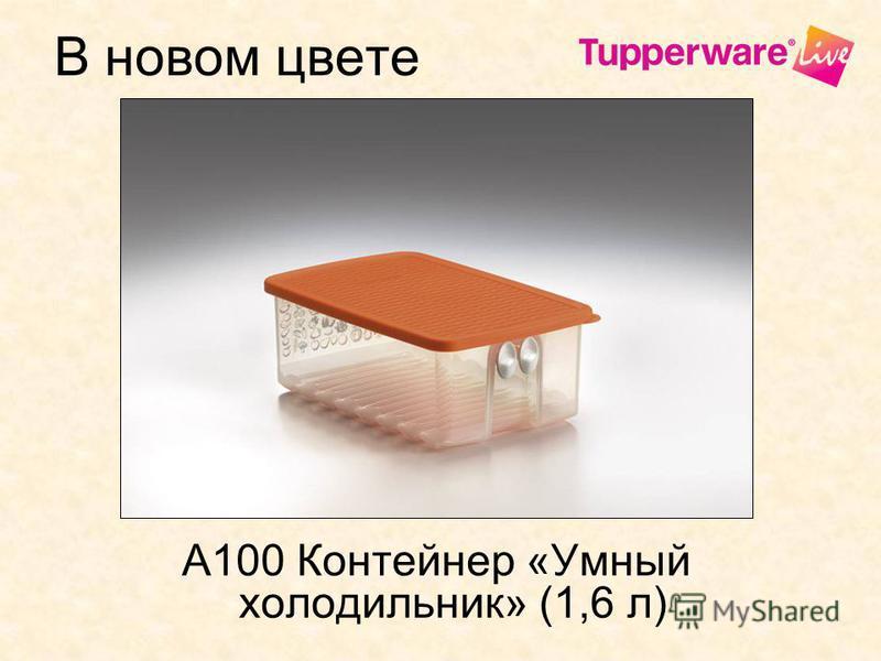 В новом цвете А100 Контейнер «Умный холодильник» (1,6 л)