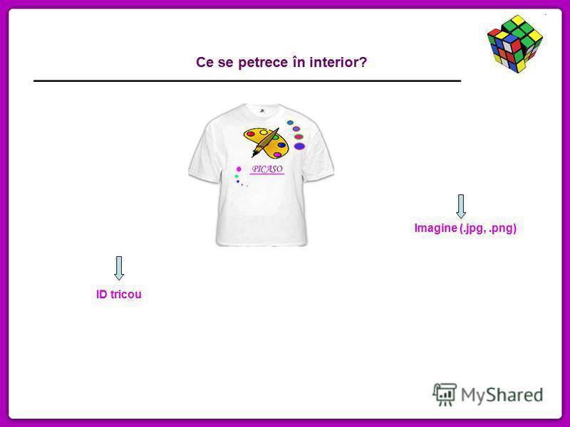 Imagine (.jpg,.png) ID tricou Ce se petrece în interior?