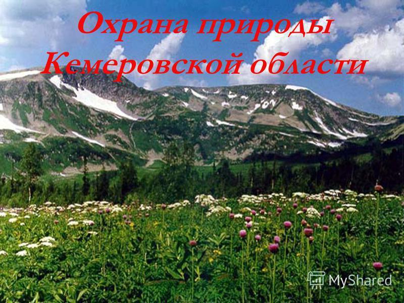 Охрана природы Кемеровской области