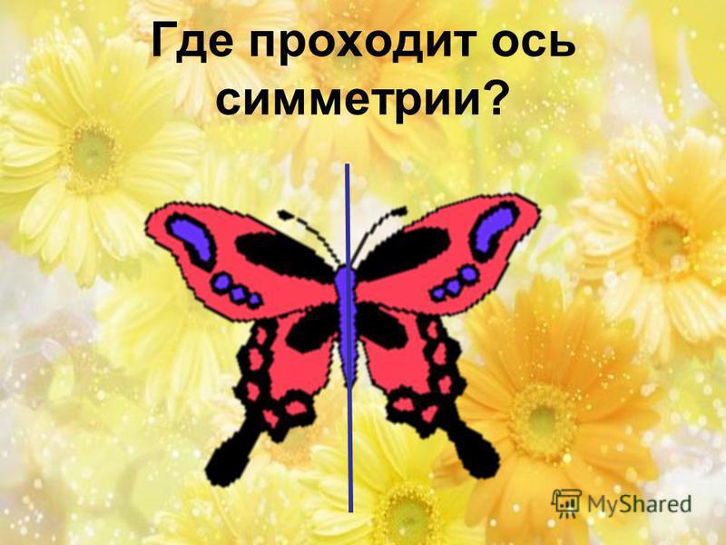 Где проходит ось симметрии?
