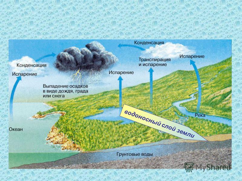 водоносный слой земли