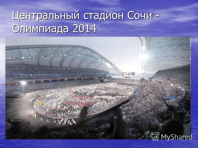 Центральный стадион Сочи - Олимпиада 2014