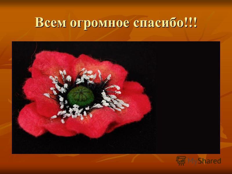 Всем огромное спасибо!!!