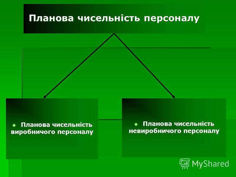 Планова чисельність персоналу Планова чисельність Планова чисельність виробничого персоналу Планова чисельність Планова чисельність невиробничого персоналу