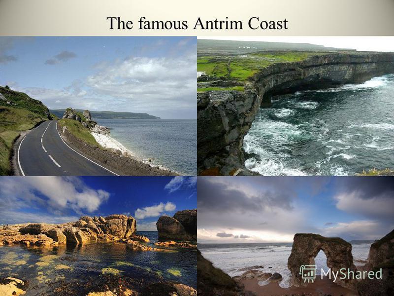 The famous Antrim Coast