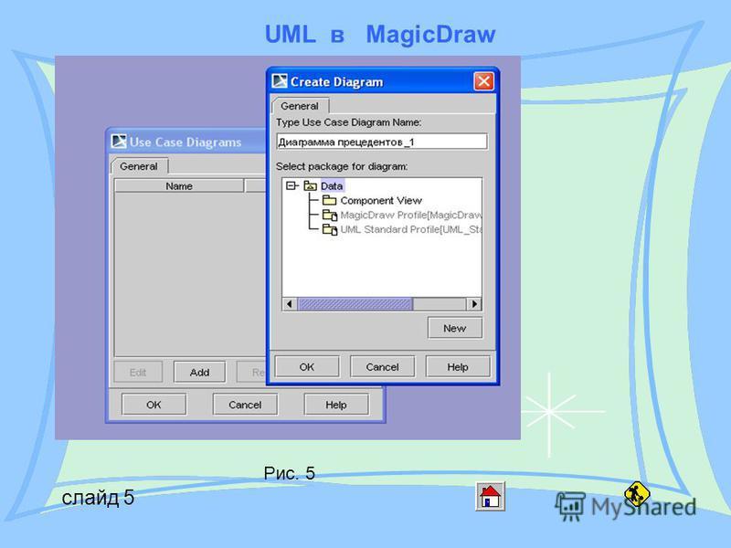 UML в MagicDraw слайд 5 Рис. 5