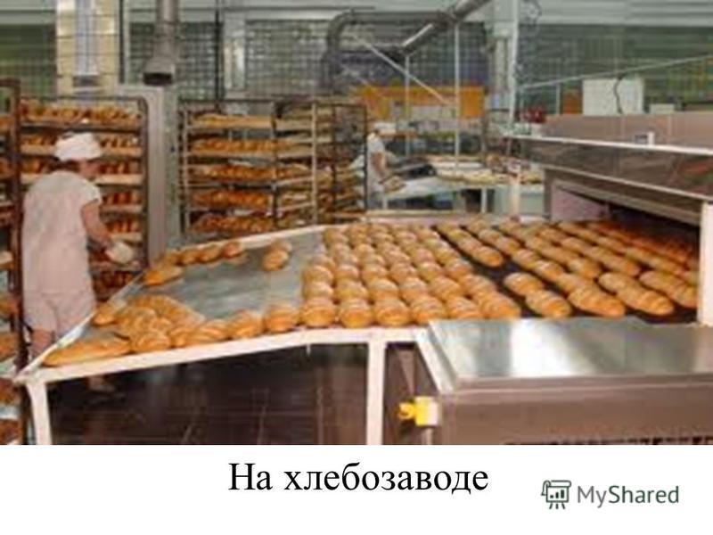 На хлебозаводе