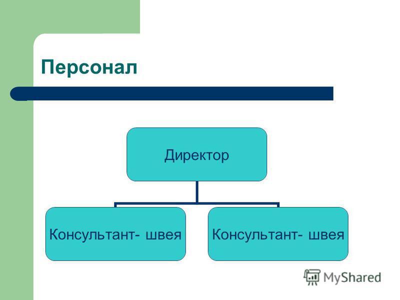 Персонал Директор Консультант- швея