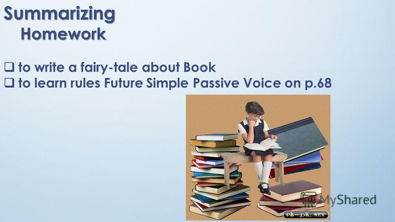 Presentation of New Grammar. Future Simple Passive Voice. Future Simple Passive Voice will +be +V3(or Past Participle) Rewrite the sentences in passive voice: 1. Jane will buy a new computer :- 2. Her boyfriend will install it :- 3. Millions of peopl