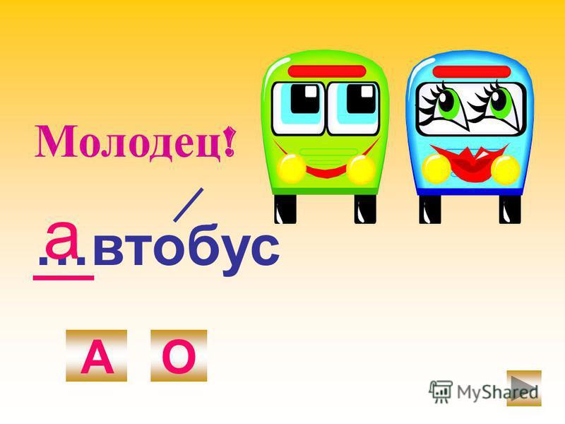…автобус АО а Молодец !