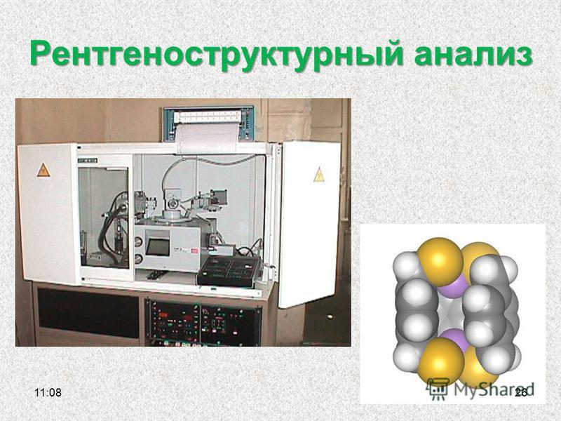 Рентгеноструктурный анализ 11:1126