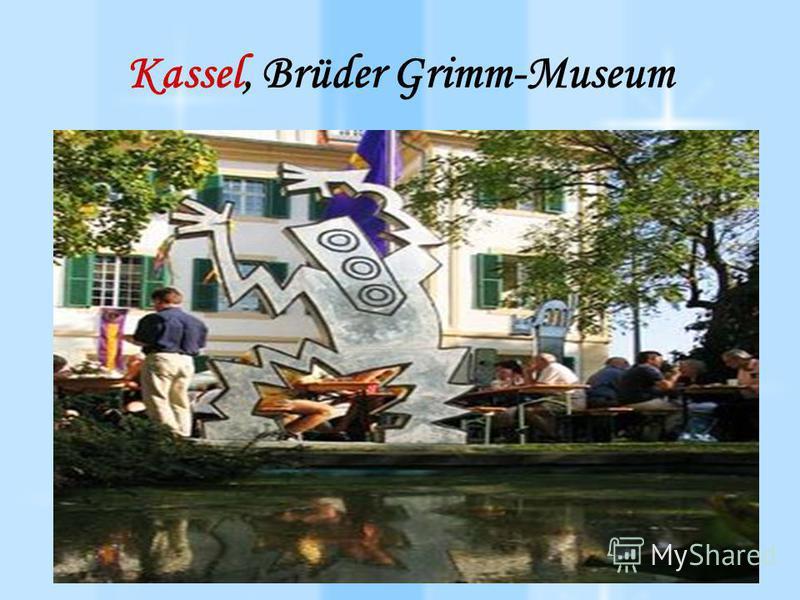 Kassel, Brüder Grimm-Museum