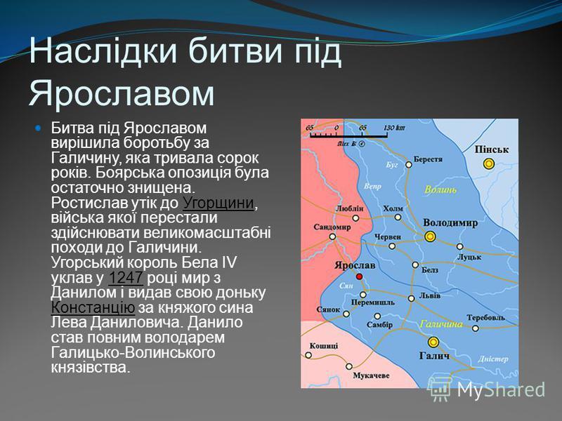 Битва під Ярославом 1245 рік