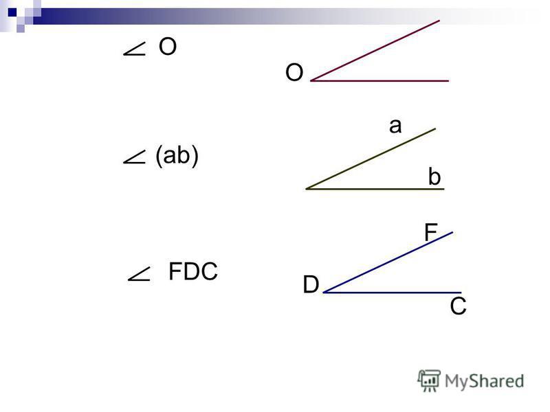 О О (аb) а b FDC F D C