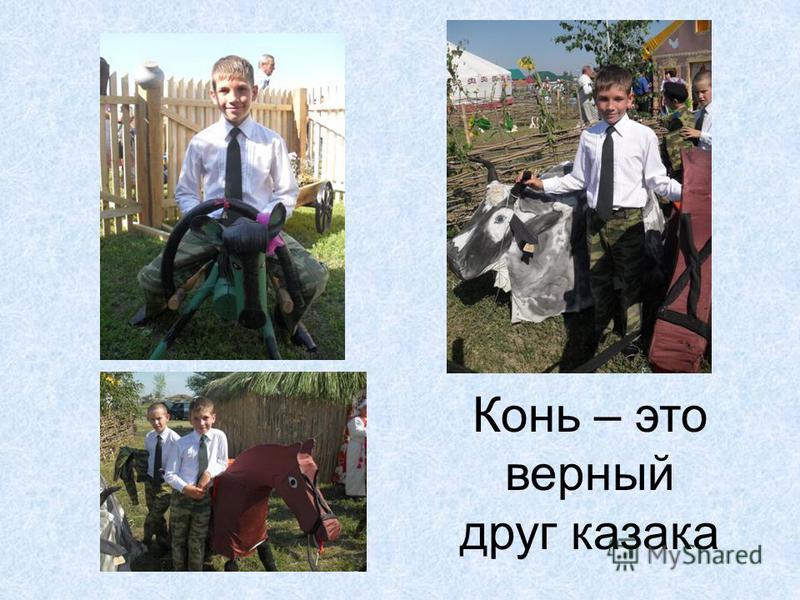 Конь – это верный друг казака