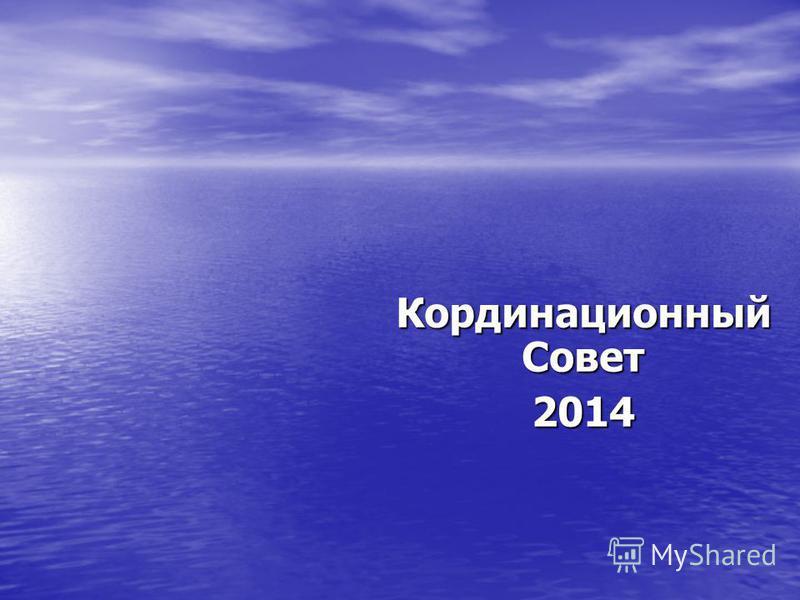 Кординационный Совет 2014