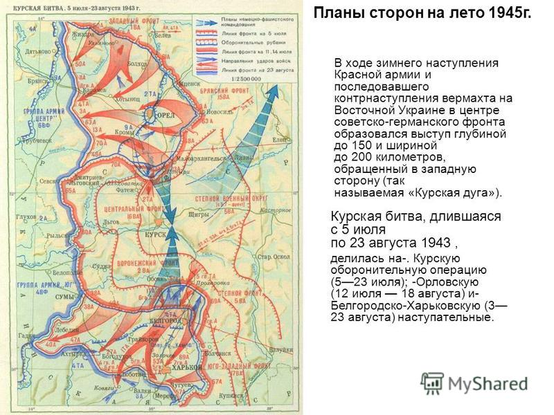 В ходе зимнего наступления Красной армии и последовавшего контрнаступления вермахта на Восточной Украине в центре советско-германского фронта образовался выступ глубиной до 150 и шириной до 200 километров, обращенный в западную сторону (так называема