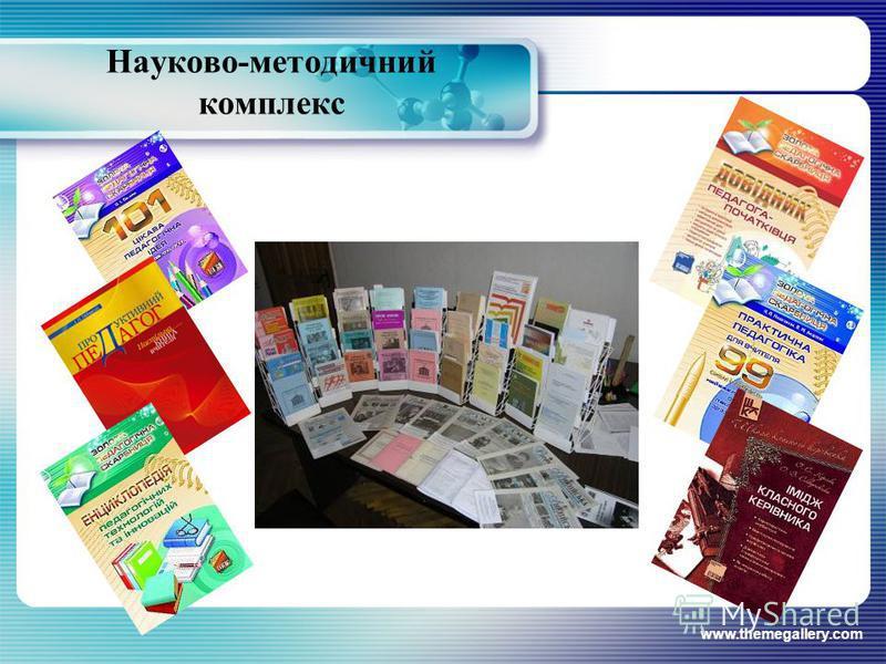 www.themegallery.com Науково-методичний комплекс