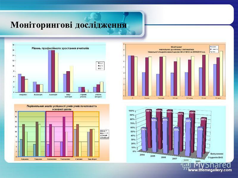www.themegallery.com Моніторингові дослідження