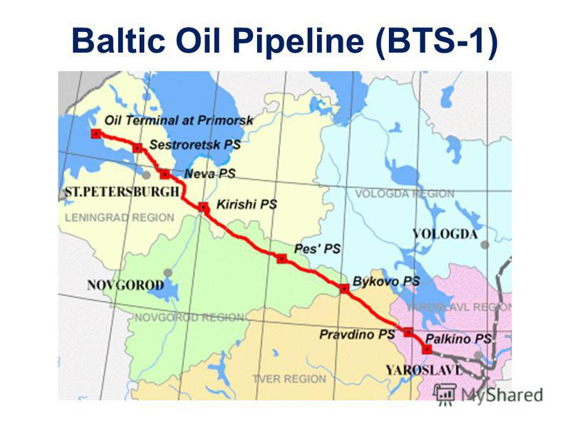 Baltic Oil Pipeline (BTS-1)
