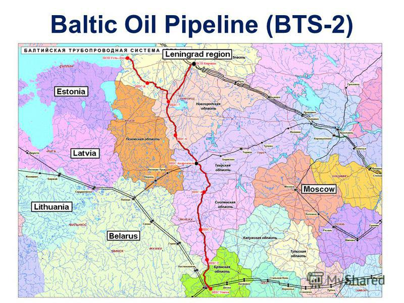 Baltic Oil Pipeline (BTS-2)