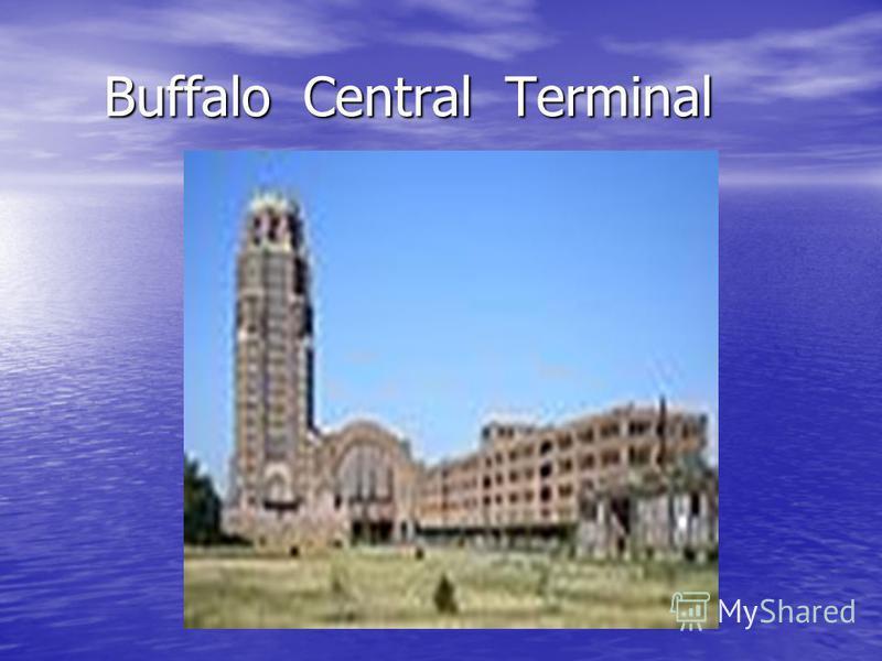 Buffalo Central Terminal Buffalo Central Terminal