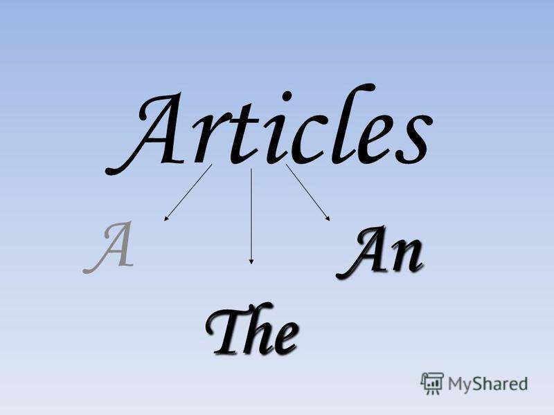 Articles A An The