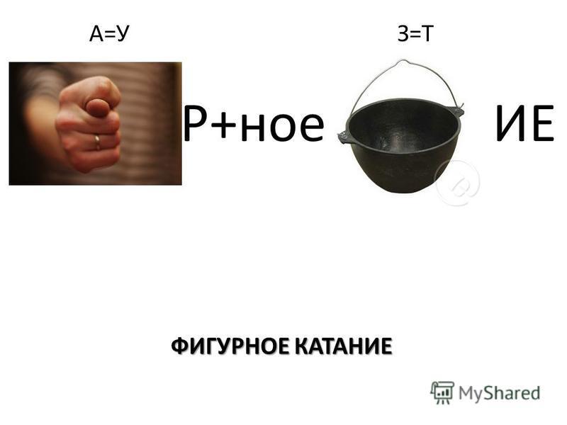 ФИГУРНОЕ КАТАНИЕ А=У З=Т Р+ное ИЕ