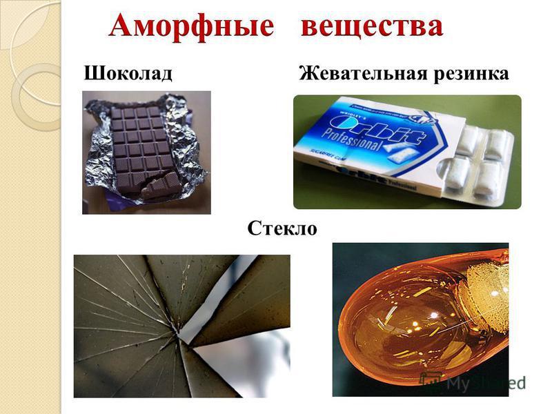 Шоколад Стекло Жевательная резинка