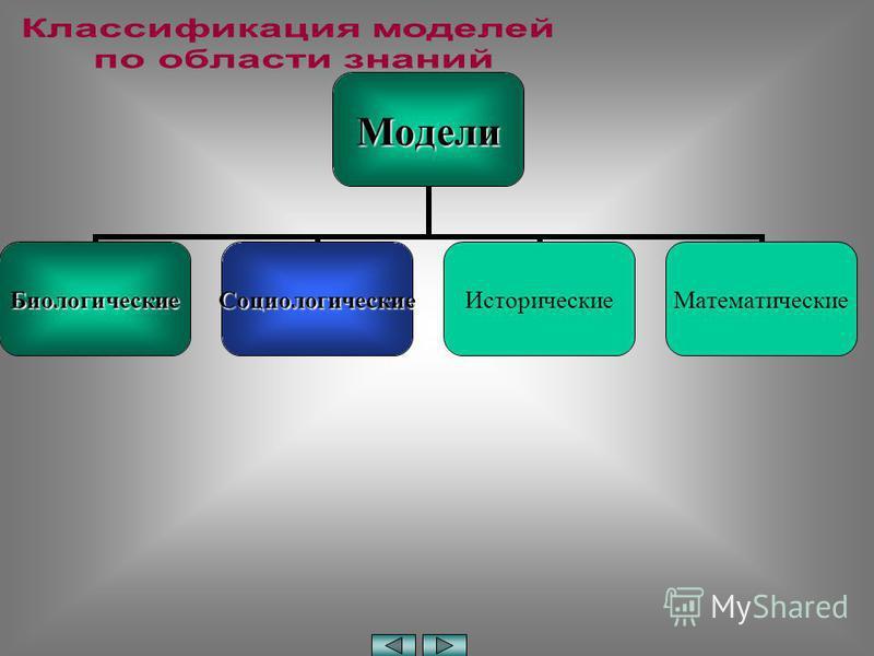 Модели Биологические СоциологическиеИсторические Математические