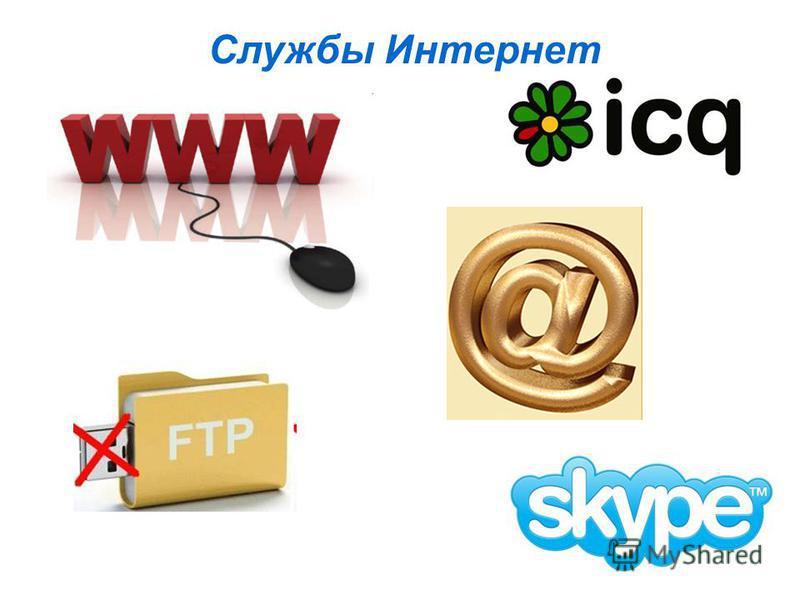 Службы Интернет