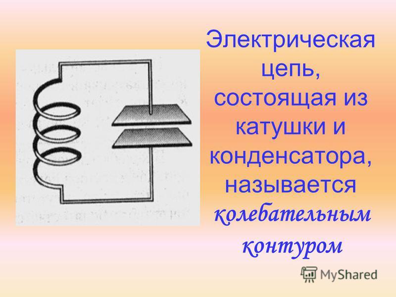 Электрическая цепь, состоящая из катушки и конденсатора, называется колебательным контуром