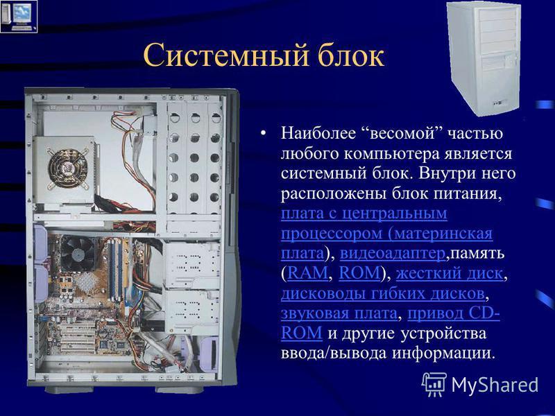 Персональный Компьютер Выполнил Дубский Виталий Учитель Дубская С.В. 2006 год