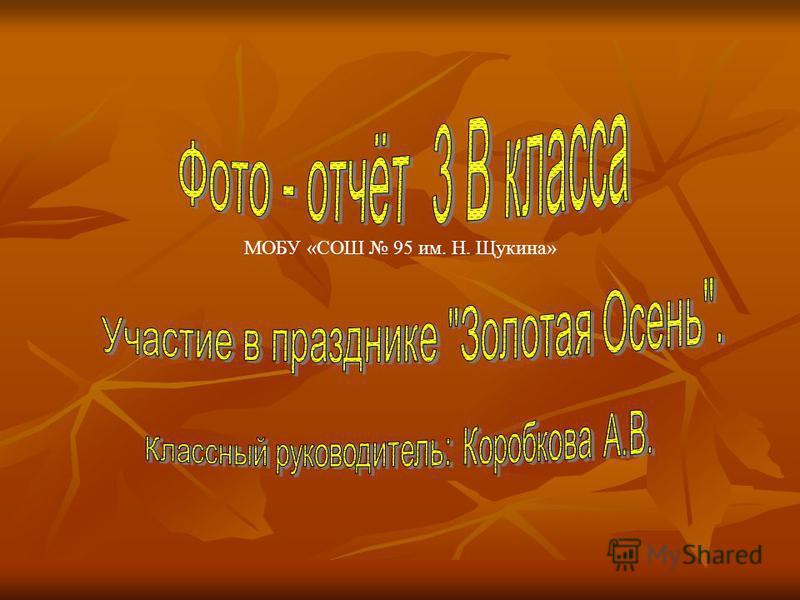 МОБУ «СОШ 95 им. Н. Щукина»