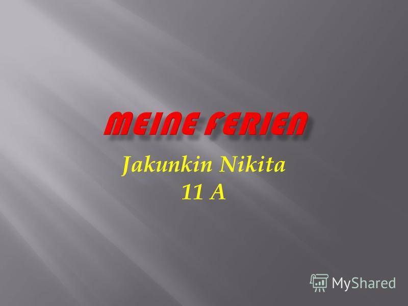 Jakunkin Nikita 11 A