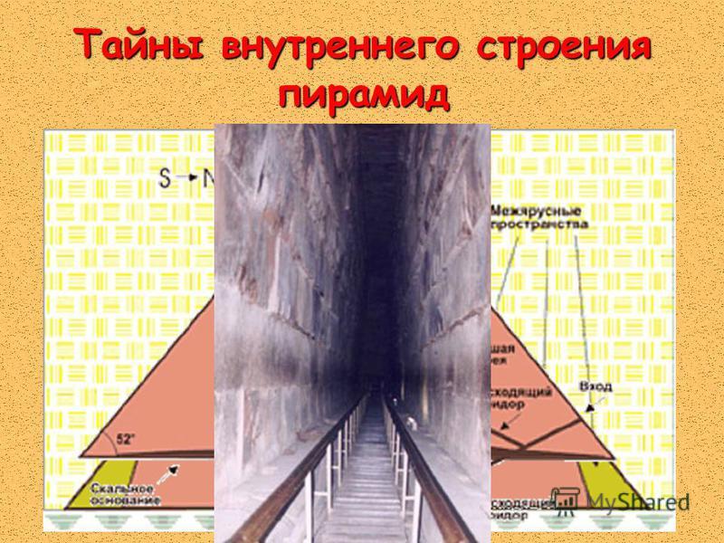 Тайны внутреннего строения пирамид