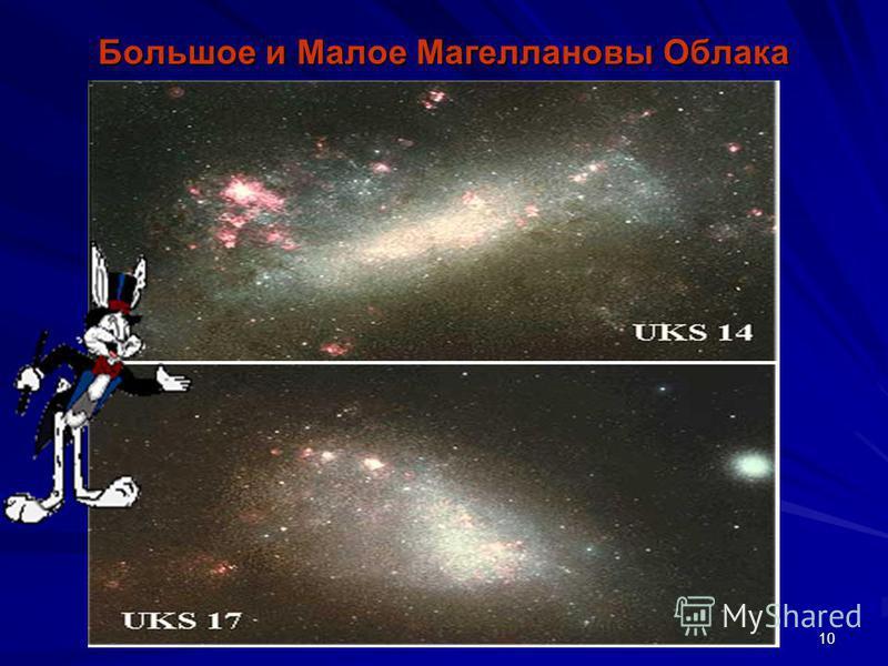 9 Скорость Нашей Галактики – 1 млн. 500 тыс. км в час. Скорость Солнечной системы вокруг Галактики – 800 тыс. км в час. Один оборот Солнечной системы вокруг Галактики – 200 млн. лет S =1,500 тыс.км/ч S S = 800 тыс.км/ч t =200 млн.лет