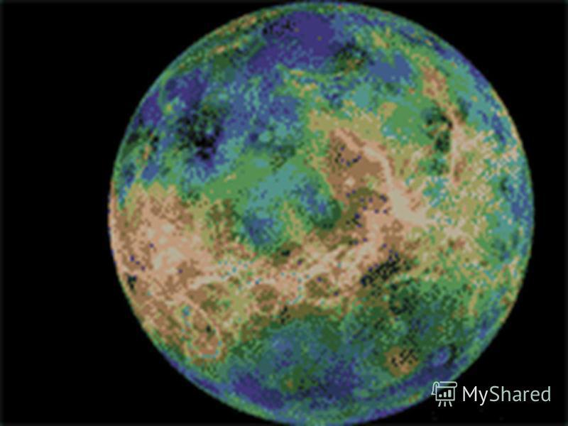 * Ганімед- найбільший серед супутників Юпітера,і взагалі у Сонячній системі.Існує припущення,що він значною мірою складається з води та льоду.Його поверхня відбиває до 40% сонячного світла і має темпаратуру близько 140 К.