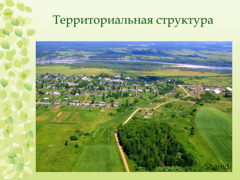 Территориальная структура