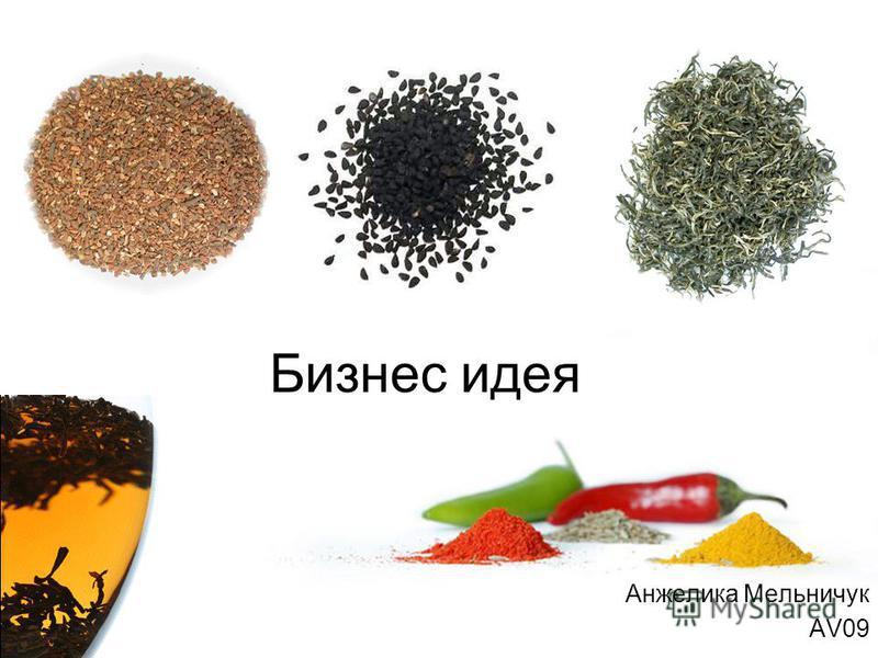 Бизнес идея Анжелика Мельничук AV09