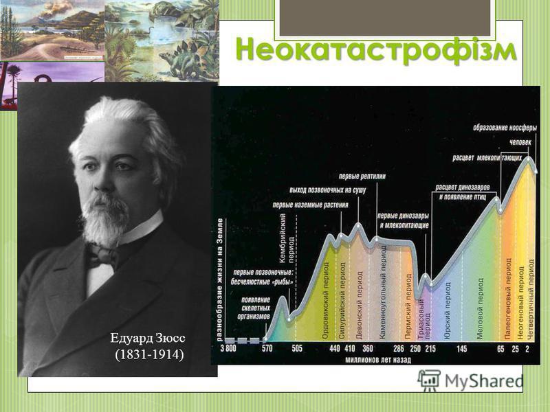 Неокатастрофізм Едуард Зюсс (1831-1914)